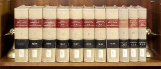 Hind's & Cannon's Precedents of the House of Representatives. 11 Vols. Asher C. Hinds, Clarence, Cannon, Compilers.