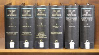 The Law of Advertising. 6 Vols. Current through release 107/Dec 2014. E. Peter Rosden, James B....