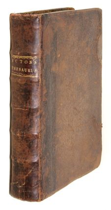 Thesaurus Rerum Ecclesiasticarum, Being an Account of the Valuations. John Ecton.