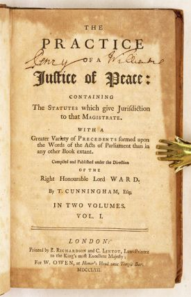 The Practice of a Justice of Peace, Containing the Statutes Which...