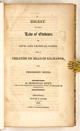 A Digest of the Law of Evidence, in Civil and Criminal Cases, and...