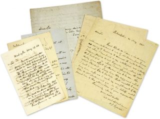 Letters from Ingersoll to James Madison and Others. Manuscript Archive, Charles Jared Ingersoll.