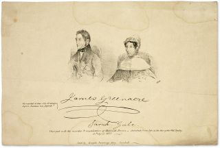 James Greenacre and Sarah Gale, Charged with the Murder and. Broadside, Murder, James Greenacre,...