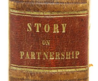 Commentaries on the Law of Partnership, First Edition, Boston, 1841.
