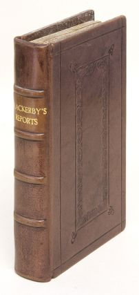 The Reports of Cases Adjudg'd in the Courts at Westminster, &c. Samuel Blackerby