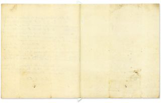 Autograph Letter (in Third Person) to George Steevens, 1779...