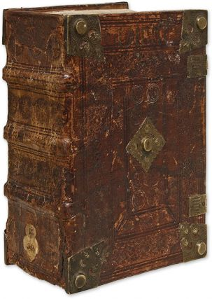 Decretum. 1493. Commentary by Bartholomaeus Brixiensis and Johannes. Corpus Juris Canonici, Gratian the Canonist.