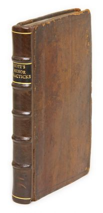 Minor Practicks, Or, a Treatise of the Scottish Law. Sir Thomas Hope, Alexander Bayne