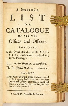 Magnae Britanniae Notitia: Or, The Present State of Great-Britain...