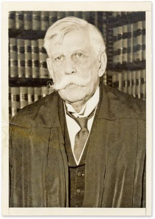 "5"" x 7"" Black-and-White Press Portrait Photograph of Holmes. Oliver Wendell Holmes."