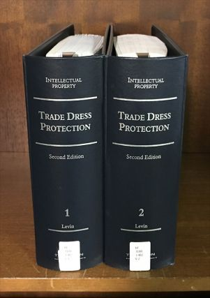 Trade Dress Protection 2d. 2 Vols. with release 8/October 2016. William E. Levin