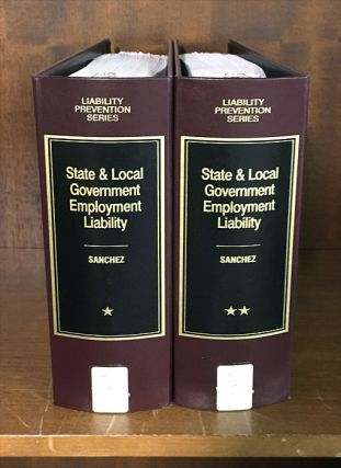 State and Local Government Employment Liability. 2 Vols. Oct 2017. Robert D. Klausner.