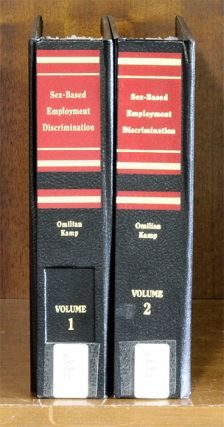 Sex Based Employment Discrimination. 2 Vols thru 2017-2018 supplement