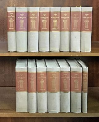 Digest of International Law. Vols. 1-15. Complete set. Marjorie M. Whiteman