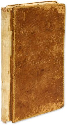 Account Book as Executor of the Estate of Thomas Rathbone Lee. Manuscript, Elijah Lee.