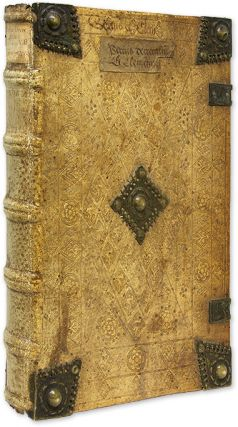 Liber Sextus Decretalium [Bound with] Constitutiones, 1482. Canon Law, Pope Bonifacius VIII, Pope Clement V.