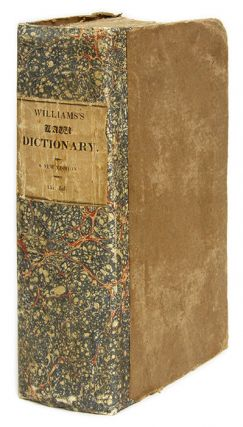 A Compendious and Comprehensive Law Dictionary; Elucidating the. Thomas Walter Williams.