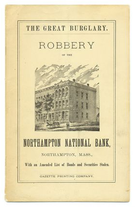 Robbery of the Northampton National Bank, The Cashier Overpowered. Oscar Edwards