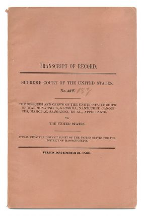 Transcript of Record, Supreme Court of the United States. Trial, Richard Henry Dana.
