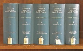 California Insurance Law and Practice. 5 Vols. thru rel 90/July 2017