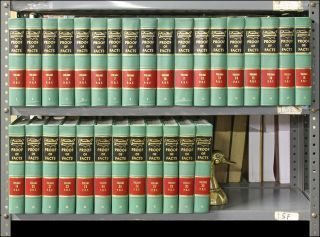 Am Jur Proof of Facts 1st. Vols. 1-30; with July 2006 supplements. Thomson Reuters Lawyers...
