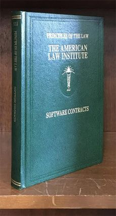 Principles of the Law of Software Contracts. 1 Vol. American Law Institute. Hillman, O'Rourke.