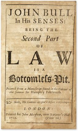 Bound Collection of Satirical Pamphlets on Legal and Political Topics.