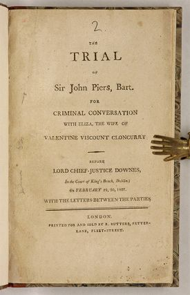 The Trial of Sir John Piers, Bart, For Criminal Conversation with...