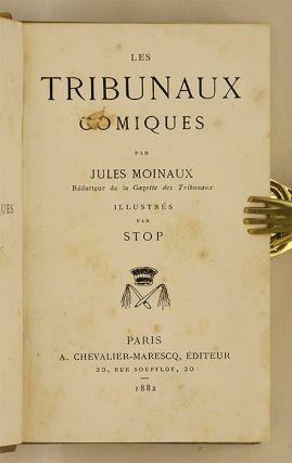 Les Tribunaux Comiques, 2nd and 3rd Series.