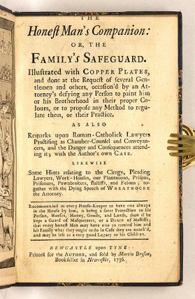 The Honest Man's Companion: or, The Family's Safeguard. Illustrated...