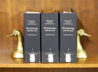 Biotechnology and the Law. 3 vols. Current thru Release 14/June 2016. Iver P. Cooper.