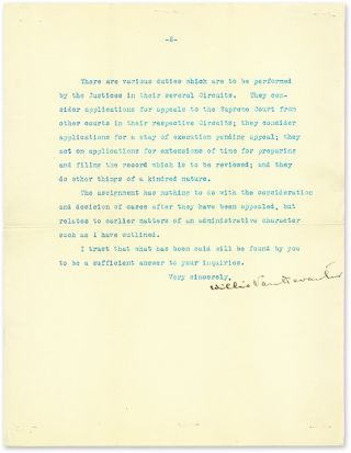 Typed Letters, Signed, On Personal Letterhead [with] Press Photograph.