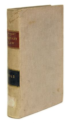 Observations on Military Law, and the Constitution and Practice of. William C. De Hart