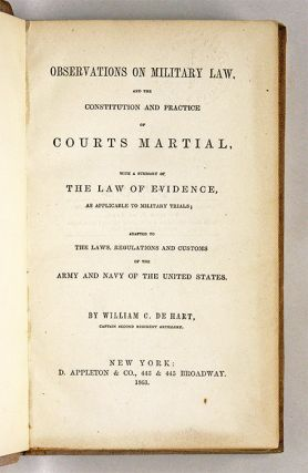 Observations on Military Law, and the Constitution and Practice of...