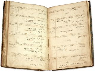 Docket Book, Court of Common Pleas, Plymouth, Massachusetts, 1823.