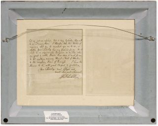 "Autograph Letter, Signed, Addressed to ""My Lord,"" March 21, 1761..."