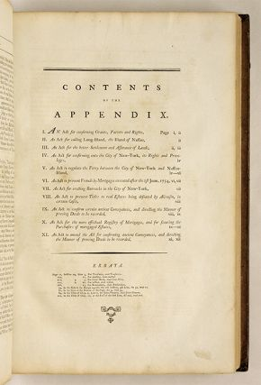 Laws of the State of New-York, Comprising the Constitution, And the...