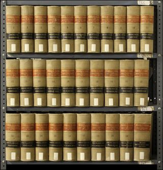 Federal Cases. Vols. 1-30 (1789-1880), Digest, 31 books. Complete set. West Publishing Co