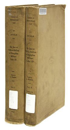 De Jure Et Officiis Bellicis [with] Three Books on the Law of War.