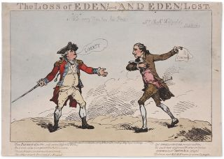 The Loss of Eden, And Eden!, Lost. Benedict Arnold, William Eden.