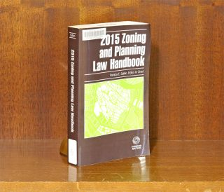 Zoning and Planning Law Handbook, 2015 ed. Patricia E. Salkin.