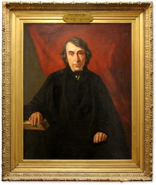 Portrait of Roger Brooke Taney, Oil on Canvas, framed