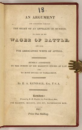 An Argument for Construing Largely the Right of an Appellee... o