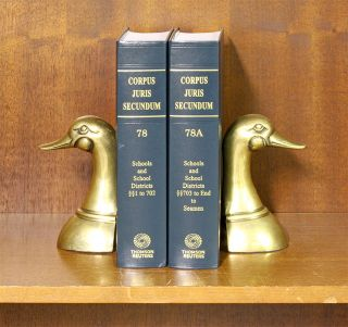 Corpus Juris Secundum. Vols. 78-78A Schools and School Districts 2 bks. Thomson Reuters