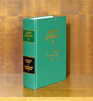 American Jurisprudence 2d. Vols 6 Assault and Battery to Attachment. Thomson Reuters