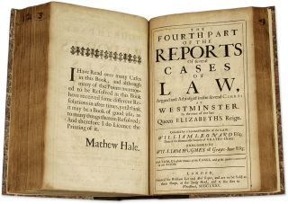 Reports and Cases of Law, Argued and Adjudged in the Courts of...
