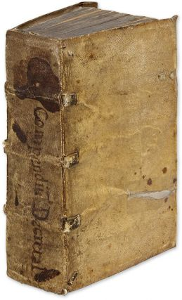 Compendium Textuale Co[m]pilationis Decretalium [Bound with] Sextus. Canon Law, Pope Gregory IX,...