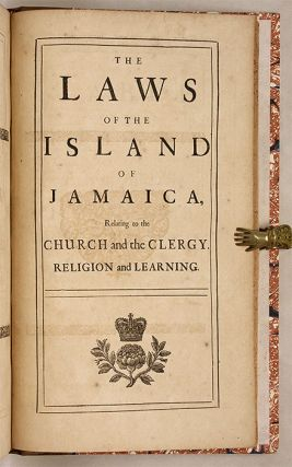 The Laws of the British Plantations in America, Relating to the...