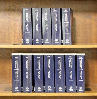 Corpus Juris Secundum. 2018 Table of Cases A-Z, in 12 books. Thomson Reuters