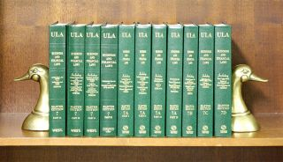 Business and Financial Laws (Vols 7 Pts IA to 7D, in 11 books). National Conference Commission...